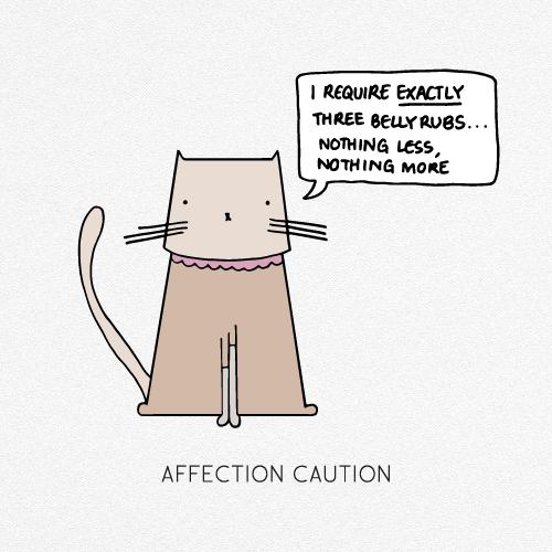AFFECTION CAUTION