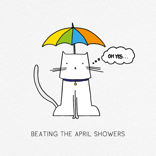 BEATING THE APRIL SHOWERS