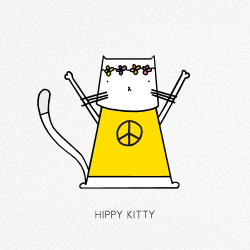 hippy-kitty