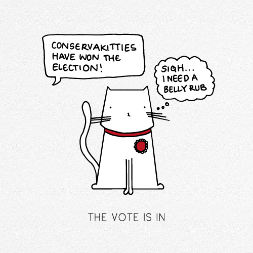 THE VOTE IS IN