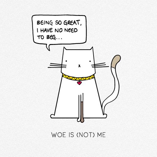 WOE IS (NOT) ME